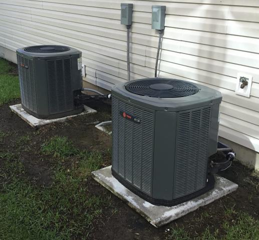 Winterville, NC - Performed preventive maintenance on 2 Trane split systems
