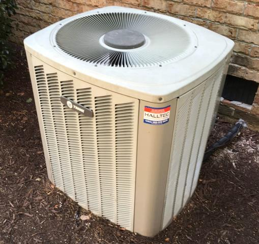 Winterville, NC - Replaced a condenser fan motor on a Trane system.
