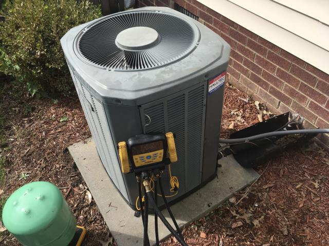 Winterville, NC - Completed preventative maintenance on American Standard and Trane systems.