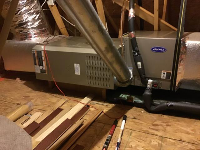 Winterville, NC - Furnish and install Run Capacitor for Carrier System.