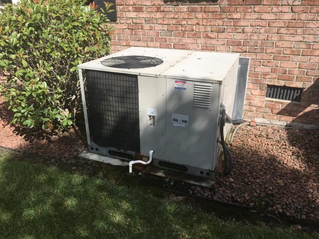 Installed warranty evaporator coil and serviced system
