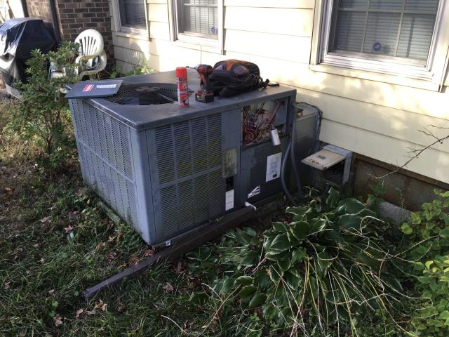 Ayden, NC - Performed preventative maintenance on Goodman system and also installed a Dual Capacitor.