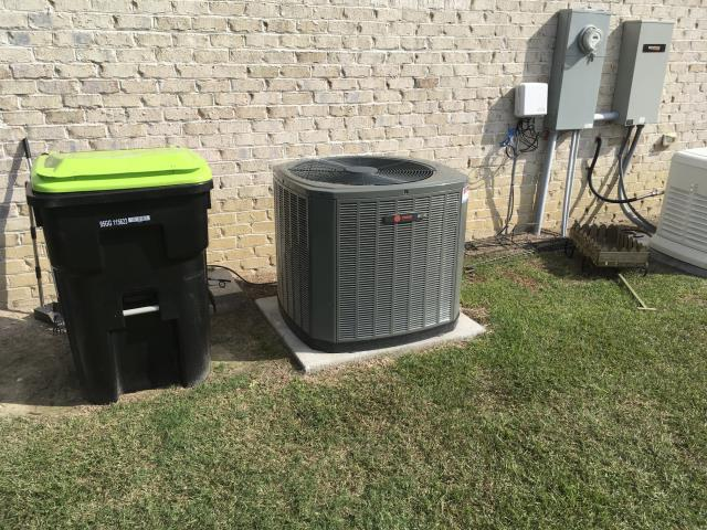 Greenville, NC - Performed preventative maintenance on 2 Trane Split Systems.