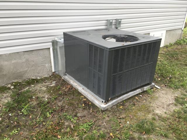 Walstonburg, NC - Installed 3 ton 14 seer Goodman heat pump system with thermostat. Insulated and strapped duct work. Cut in 2 supply grills and installed return grill.