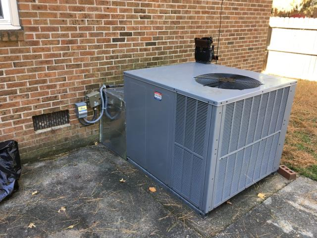 Rocky Mount, NC - Performed preventative maintenance on Daikin Gas package system.