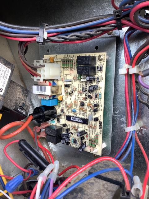 Greenville, NC - Installed a new ignition control board with ignitor.
