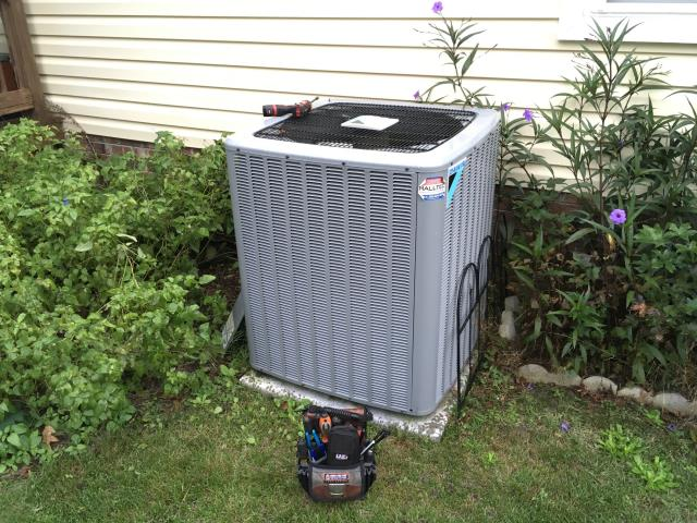 Ayden, NC - Completed preventative maintenance on Daikin split system.