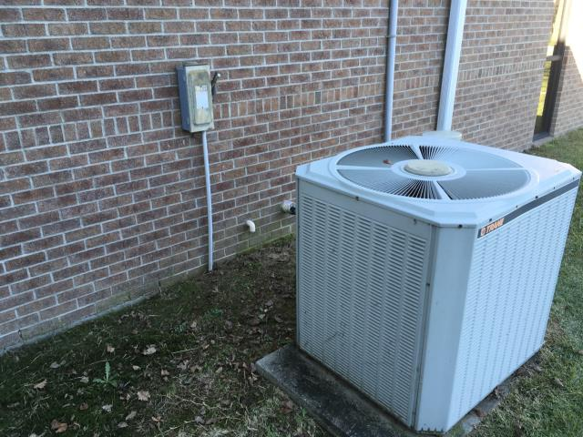 Greenville, NC - Performed preventative maintenance on Trane split system and changed filters.