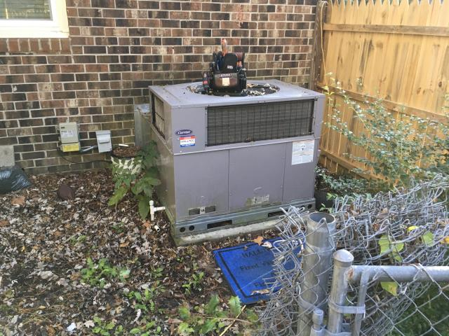 Greenville, NC - Performed preventative maintenance on Carrier Package System