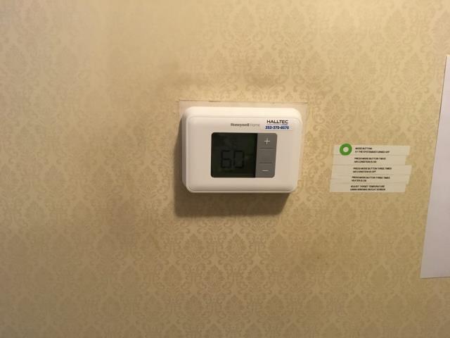 Goldsboro, NC - Installed new Honeywell thermostat