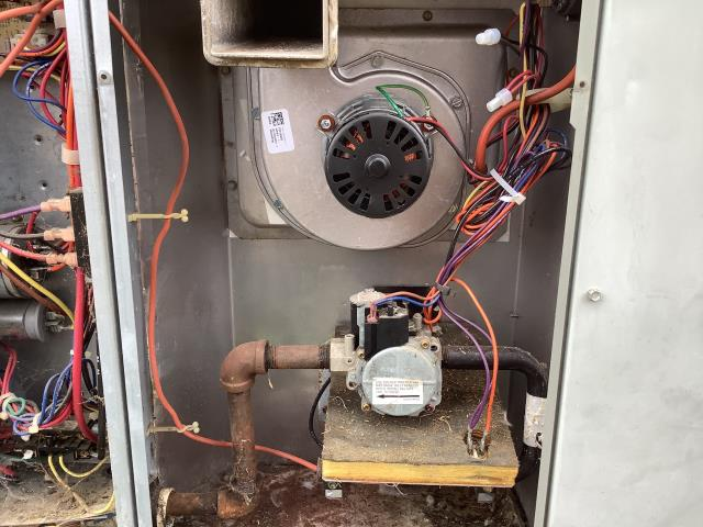 Winterville, NC - Installed a new inducer draft motor and pressure switch with igniter