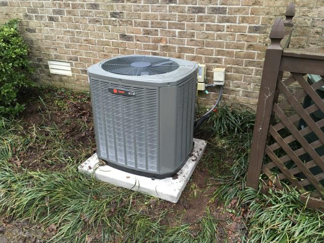 Winterville, NC - Installed a Trane 80% Gas Furnace with a 3-ton 14 SEER A/C coil and condenser.