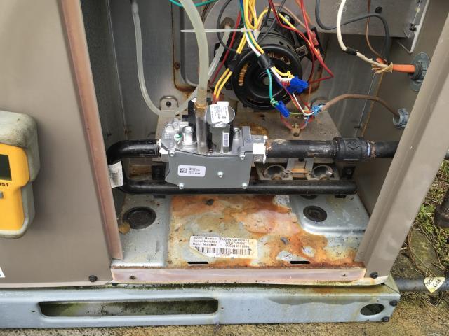 Winterville, NC - Installed new gas valve.