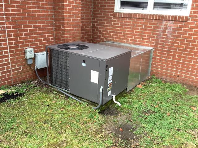 Ayden, NC - Provided customer with an estimate to relocate HVAC system. Including duct work, electrical, and thermostat. Provide a new hood and patch existing hole.