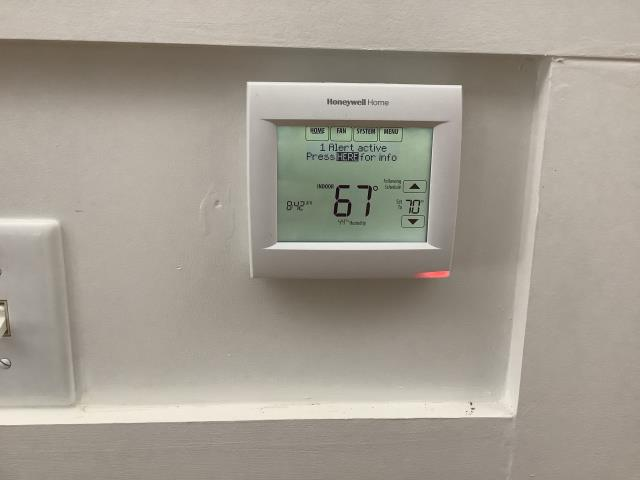 Grifton, NC - Installed warranty Wi-Fi thermostat.