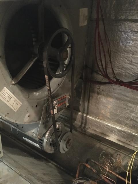 Installed new A50 blower belt
