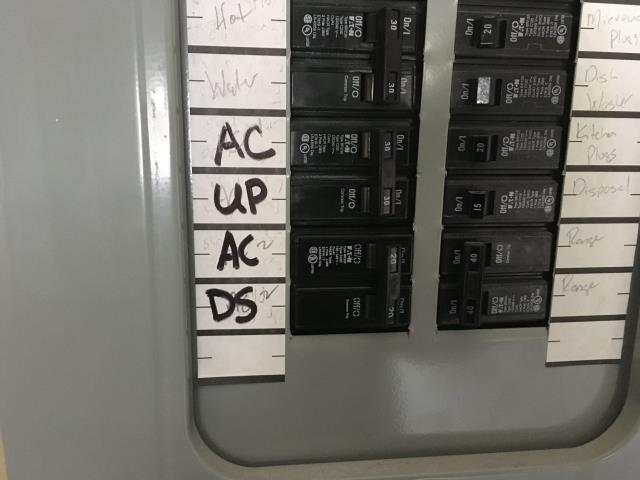 Installed a new 20 amp breaker.