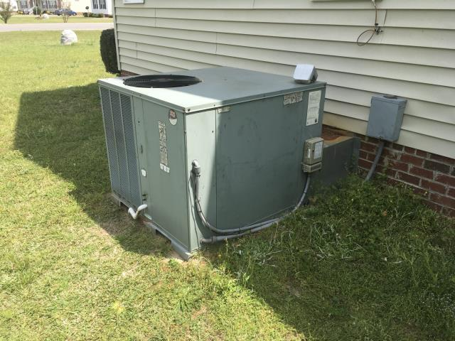 Rocky Mount, NC - Installed new blower motor and defrost board