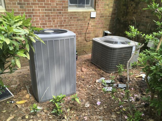 Greenville, NC - Performed preventative maintenance on both split system.