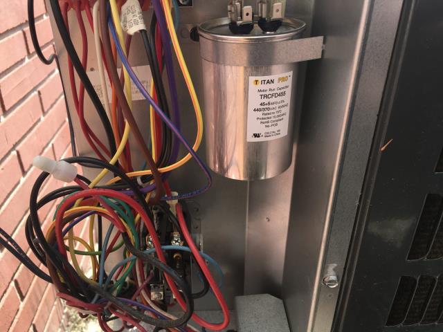 Newport, NC - Installed warranty capacitor