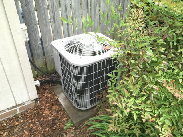Winterville, NC - Performed maintenance on split system and installed new capacitor