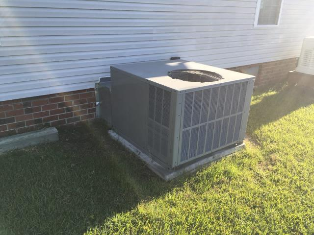 Chocowinity, NC - Performed preventative maintenance on package system