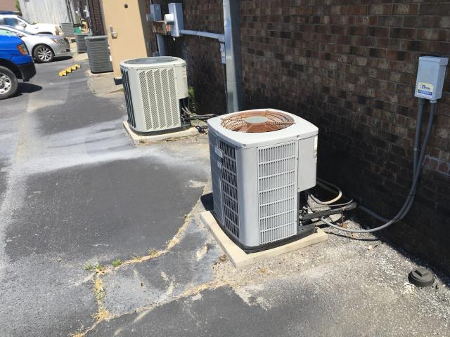 Greenville, NC - Performed preventative maintenance on two heat pumps