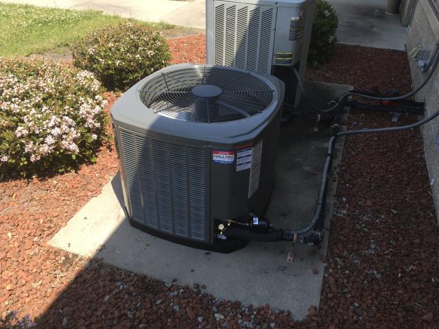 Winterville, NC - Installed a new Trane split system