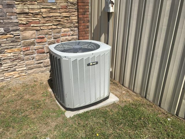 Winterville, NC - Performed preventative maintenance on Trance split system and installed an sir scrubber on Air handler.
