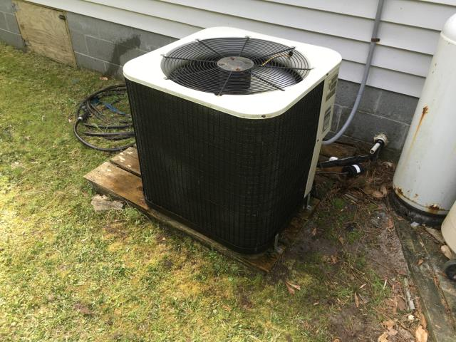 Aurora, NC - Complete preventative maintenance on split system and installed a new capacitor