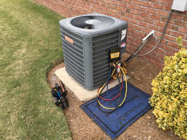 Winterville, NC - Performed preventative maintenance on Goodman split system