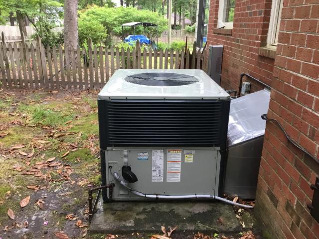 Rocky Mount, NC - Performed preventative maintenance on 2 systems and added 2 pounds of Freon.