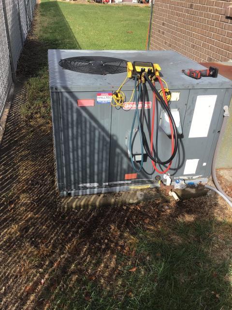 Ayden, NC - Completed preventative maintenance on Goodman system