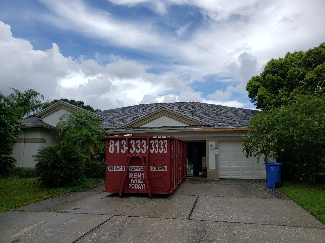Odessa, FL - New roof on a whole house rehab.