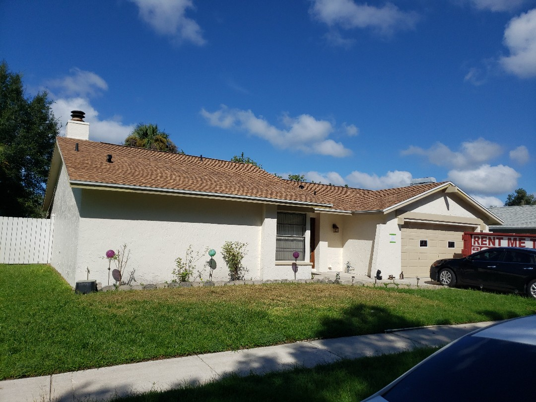 Tampa, FL - Another roof completed in the Carrollwood area.