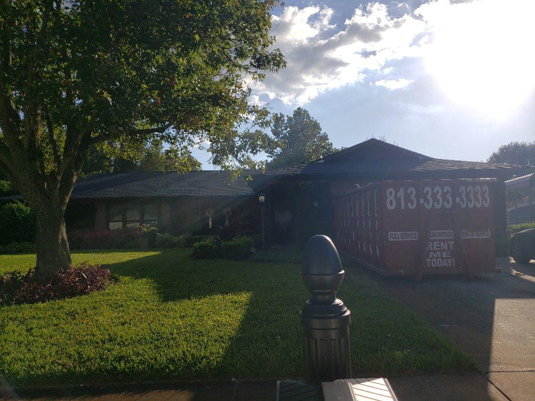 Lutz, FL - Anothe GAF Golden Pledge roof completed.
