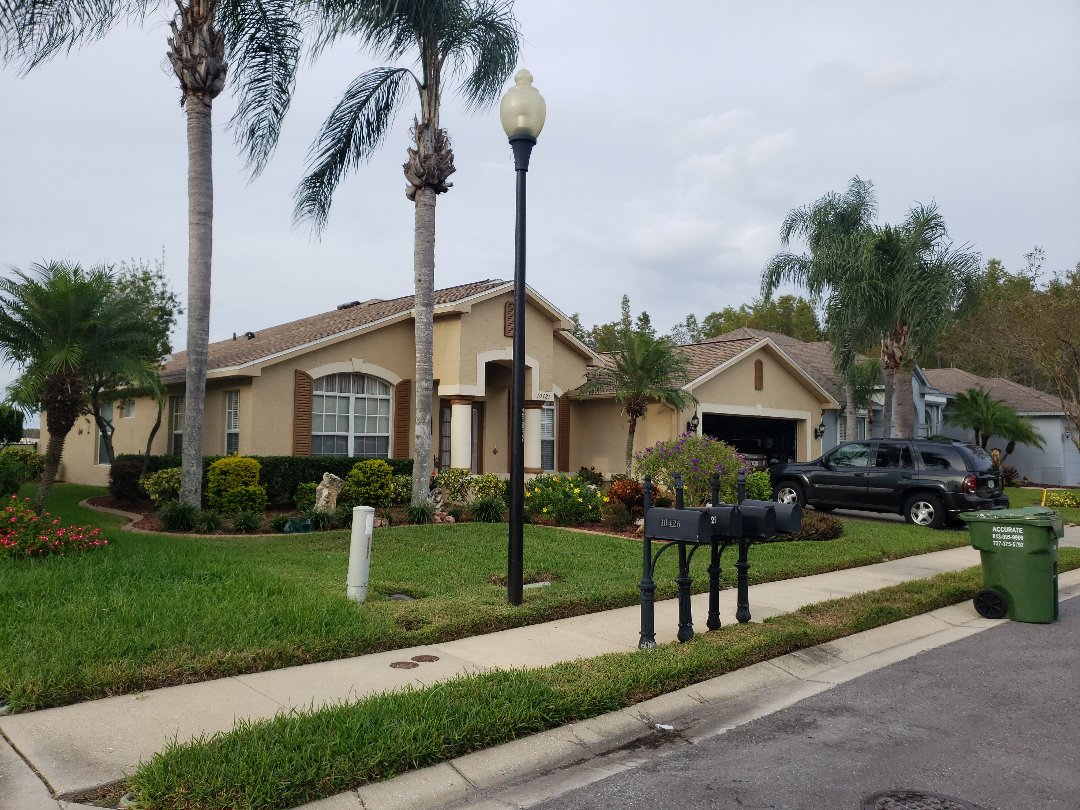 Trinity, FL - Another GAF Golden Pledge Roof Completed.