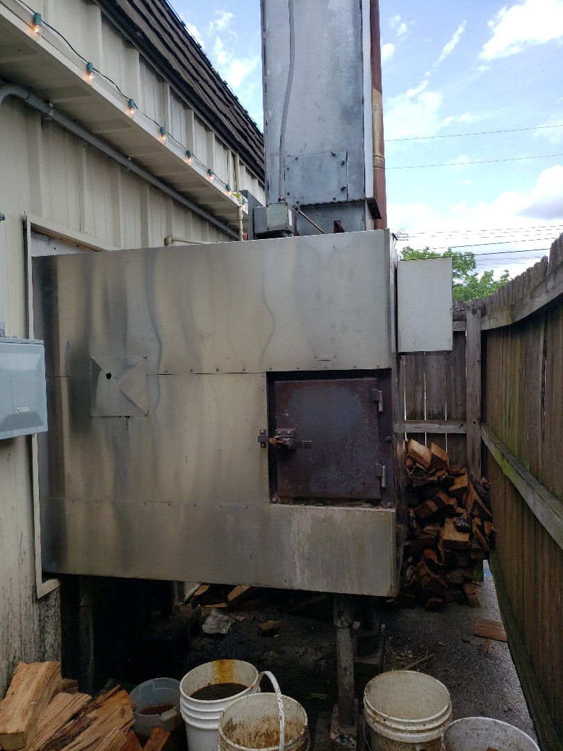 Joplin, MO - Commercial BBQ oven repair.  Repair exhaust system on a Southern Pride commercial BBQ oven, Joplin mo.