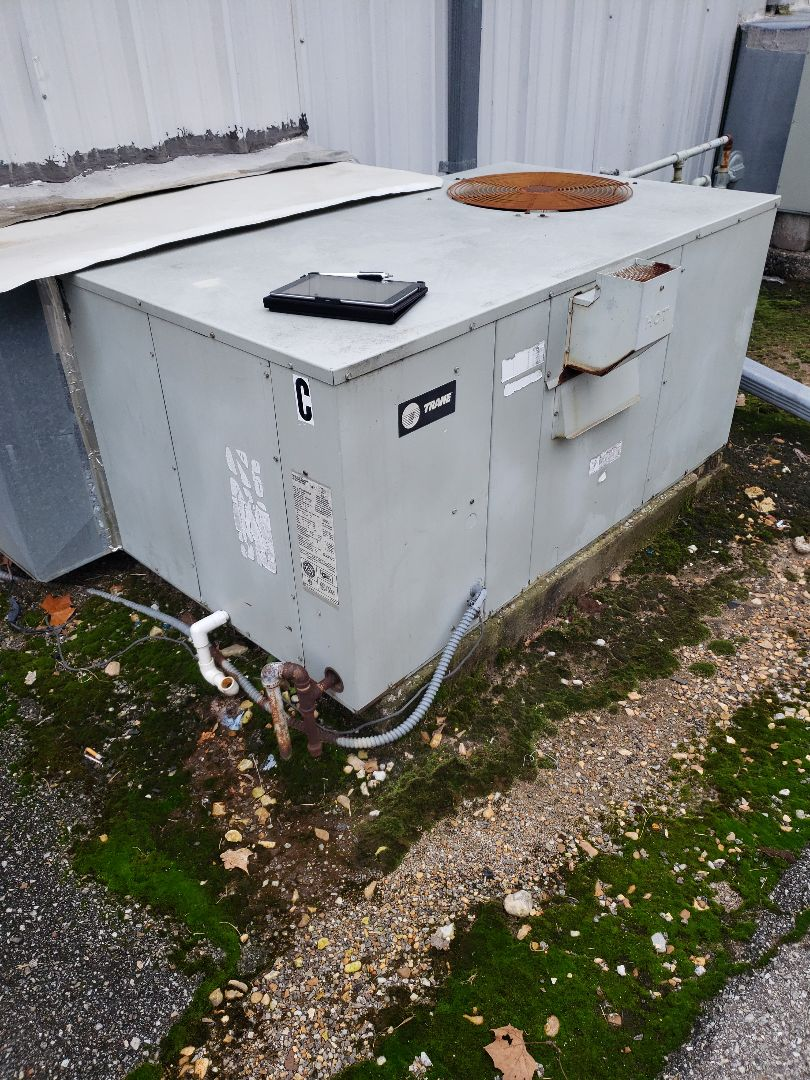 Grove, OK - Trane package unit had no heat.