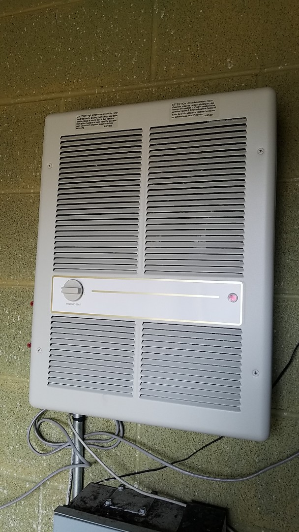 Wyandotte, OK - Heater replacement. Replaced well house heater.