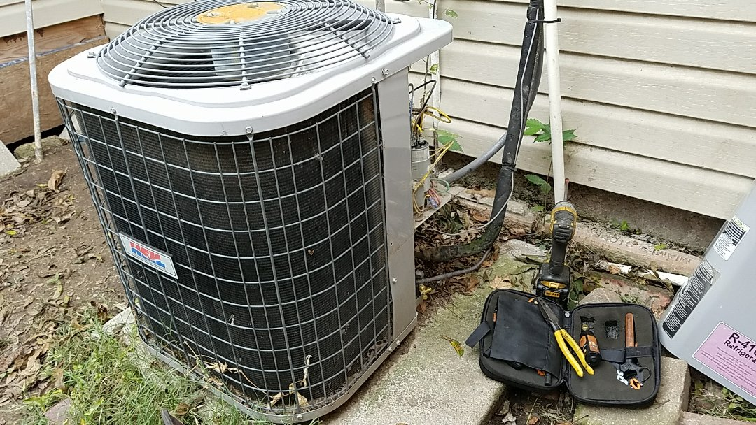 Miami, OK - Ac service. Repair ac that was not running.