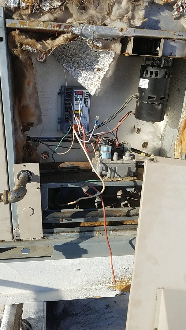 Grove, OK - Repair of a York Furnace. Repair ignition control on a roodtop package unit's heater section