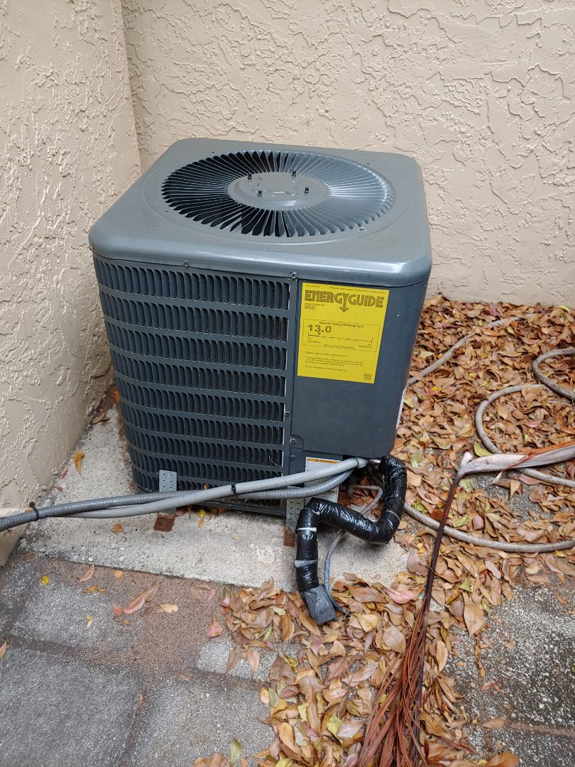 Tamarac, FL - Ac Not Running, Family  in Tamarac, Goodman ac Drain line problem fixed and test the unit is working perfectly, Another happy Customer