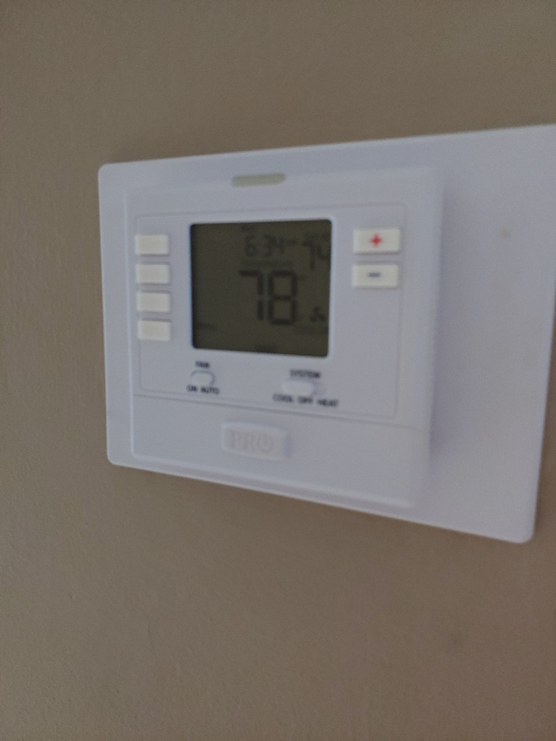 Fort Lauderdale, FL - Replaced Honeywell therostat in Fort Lauderdale