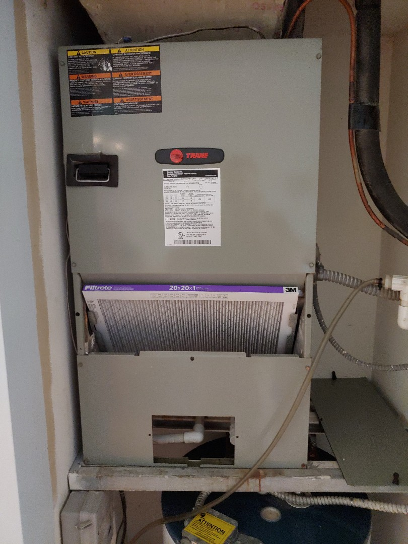 No Cool Leaking refrigerant on condenser unit, Fix the leak on Trane Unit in Deerfield Beach another happy customer