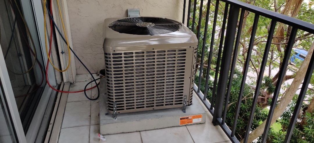 New unit installed an customer in Fort Lauderdale York High Efficiency unit another happy customer in Fort Lauderdale