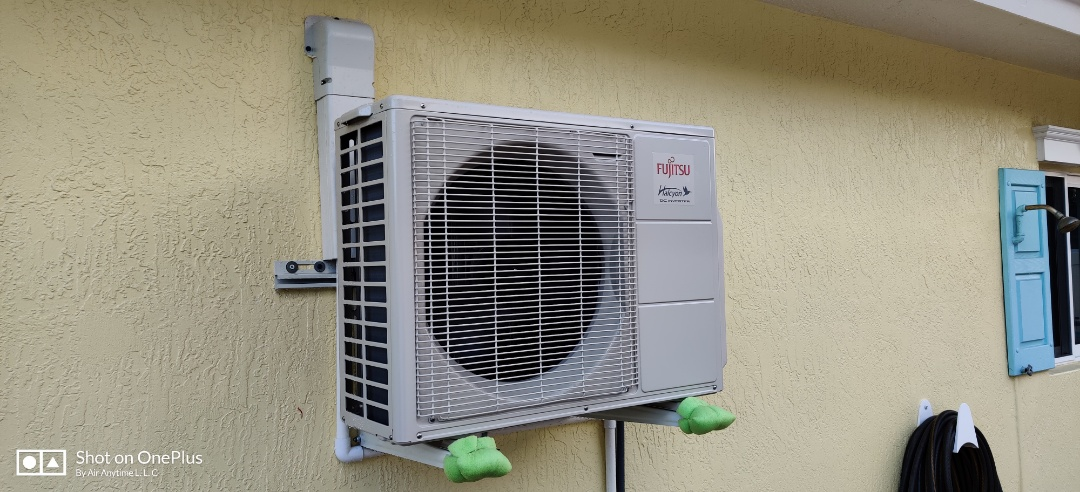 New 30 SEER unit installed at family in Lighthouse Point