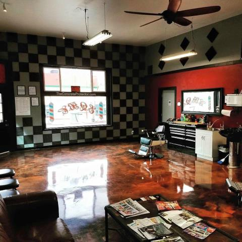 Tifton, GA - Above and beyond conventional concrete staining, Metallic Epoxy Floors gives you the colorful, three-dimensional look of marble floors for a fraction of the price.