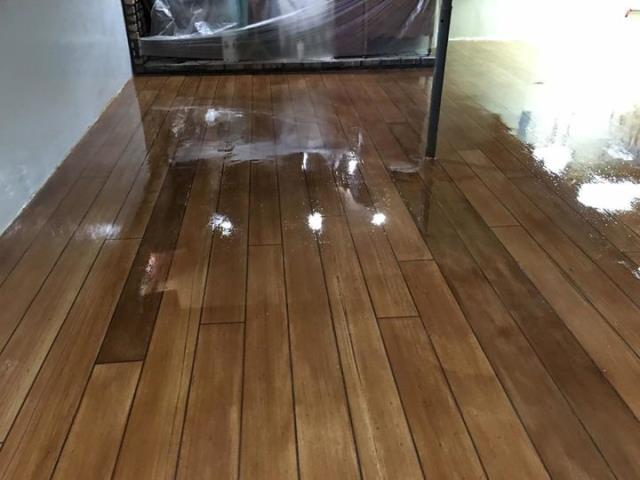 Tifton, GA - Are you tired of your carpeted floor in your basement getting soggy and stinking due to water leaks? Waterproof your basement while transforming your floor with our decorative concrete systems! Visit us to learn more today!