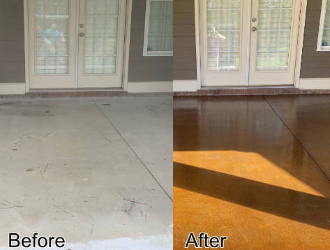Monticello, FL - I had my concrete porch repaired and stained by Floor Warriors recently. I am very pleased with how it turned out!! The price was very affordable and the staff is really friendly. I absolutely love the look and the fact that it complements the outside of my home so well!! I definitely recommend Floor Warriors and plan on using their team again in the future!!